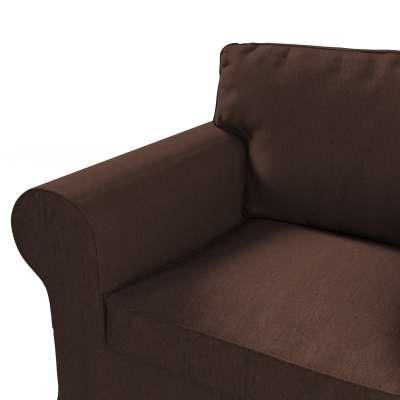 Pokrowiec na fotel Ektorp w kolekcji Chenille, tkanina: 702-18