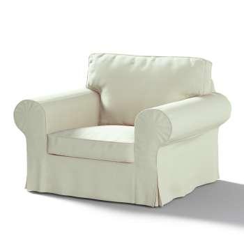 Pokrowiec na fotel Ektorp w kolekcji Chenille, tkanina: 702-22