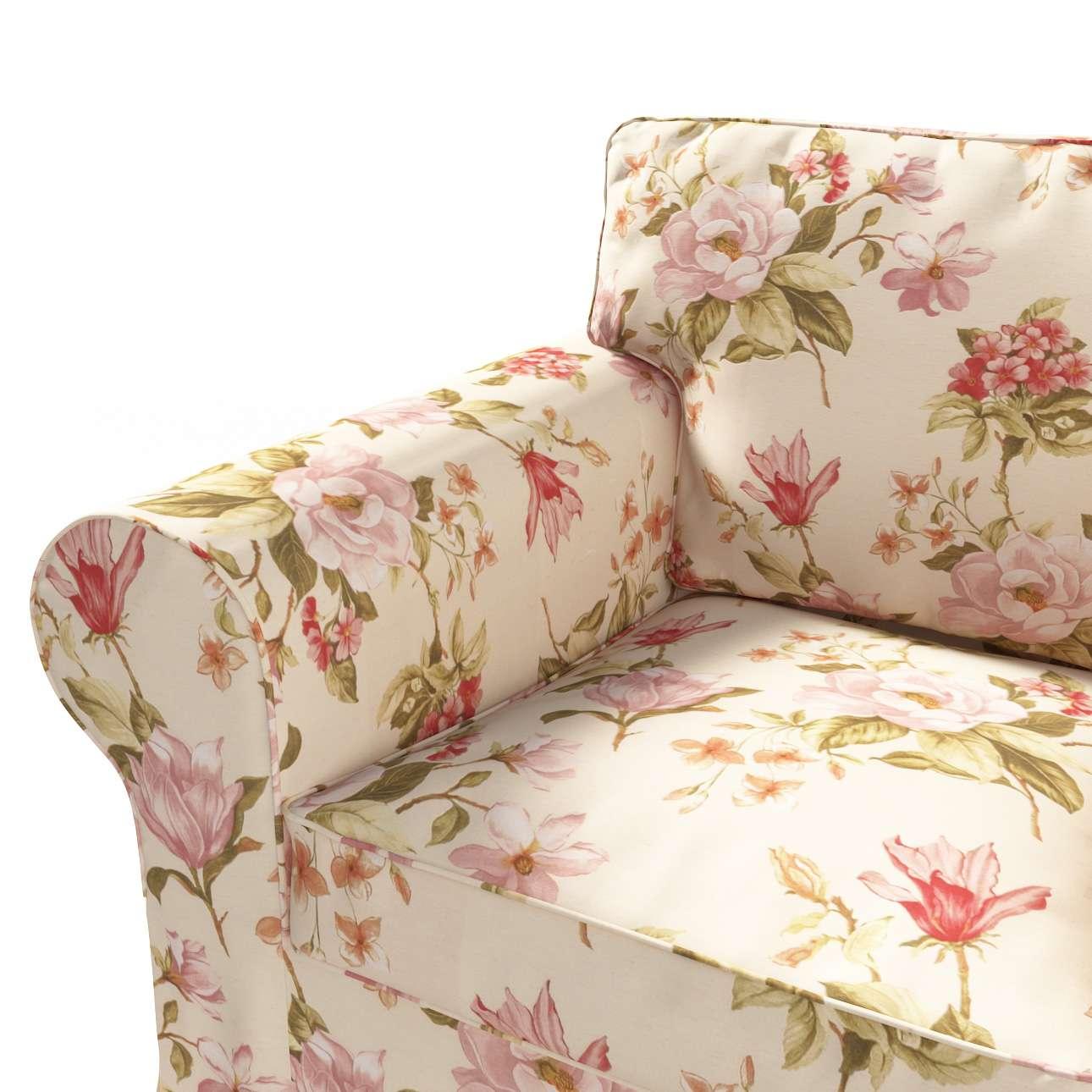 Pokrowiec na fotel Ektorp w kolekcji Londres, tkanina: 123-05