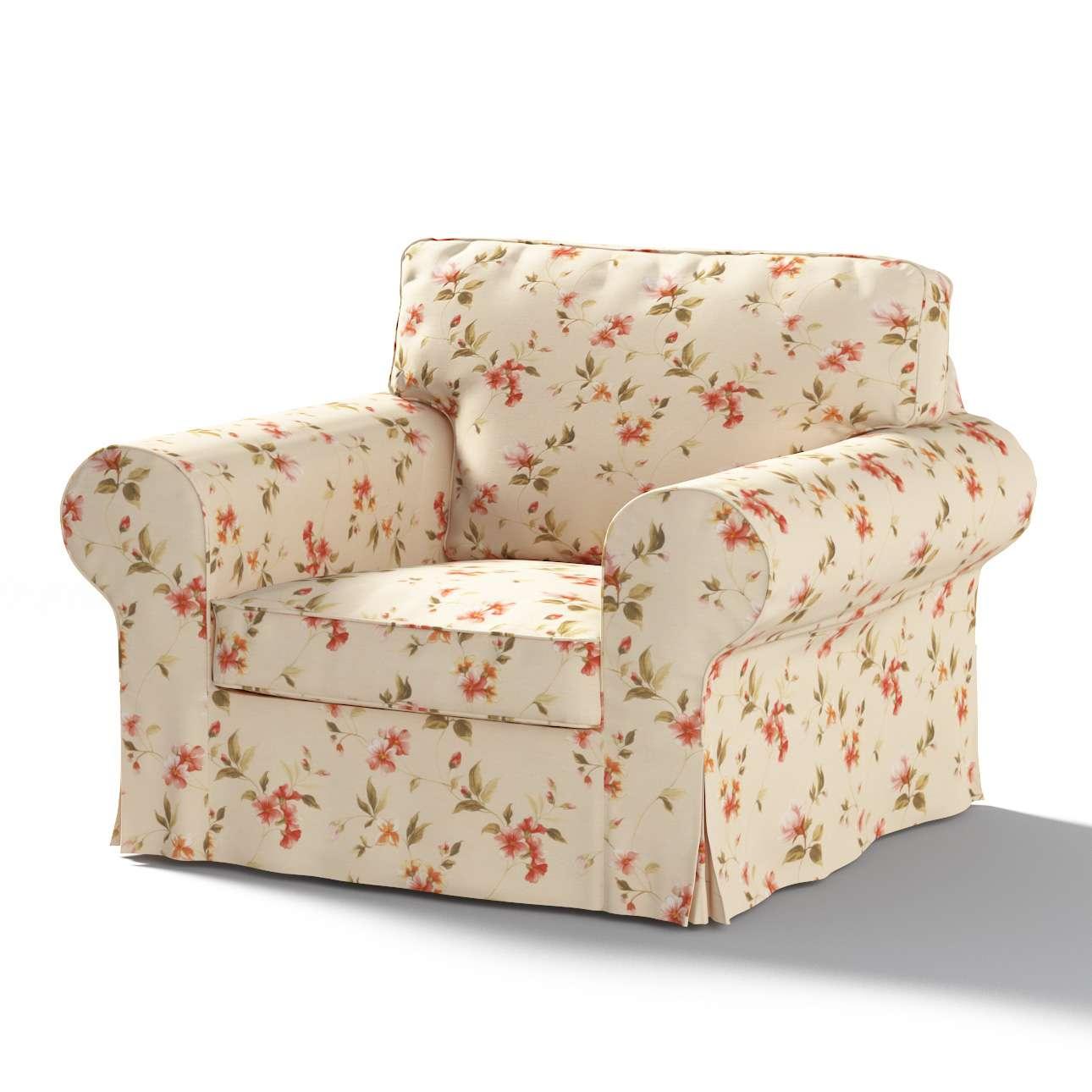 Ektorp Sesselbezug, beige, Sesselhusse, Ektorp Sessel, Londres | Heimtextilien > Hussen und Überwürfe | Glanz | Stoff | Dekoria
