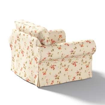 Pokrowiec na fotel Ektorp w kolekcji Londres, tkanina: 124-05