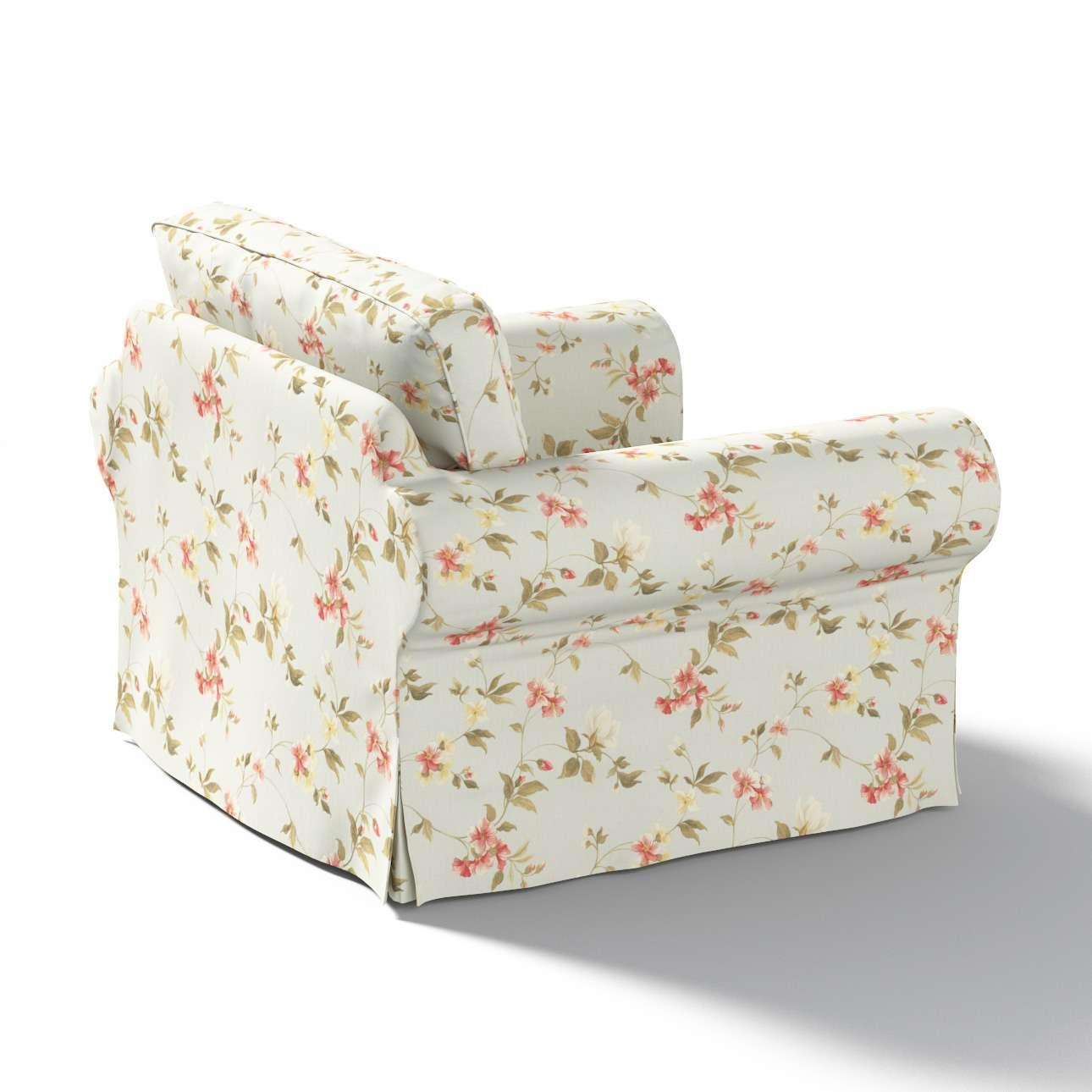 Pokrowiec na fotel Ektorp w kolekcji Londres, tkanina: 124-65