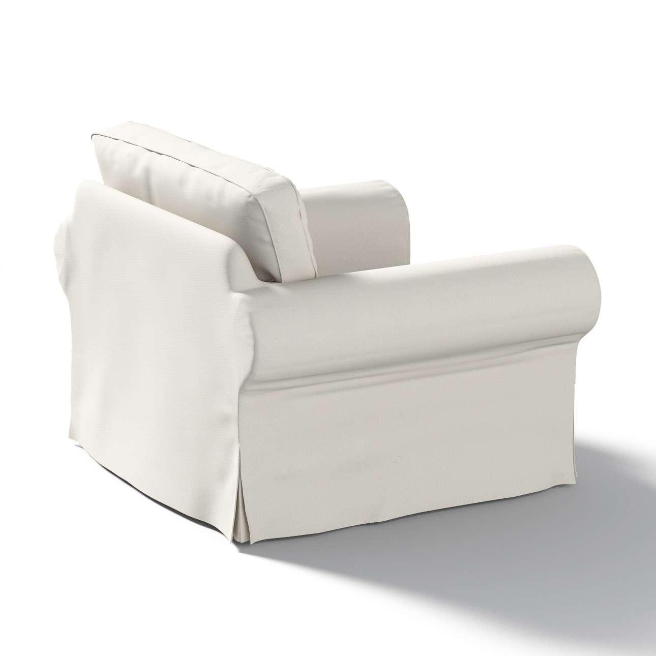 Pokrowiec na fotel Ektorp w kolekcji Etna , tkanina: 705-90