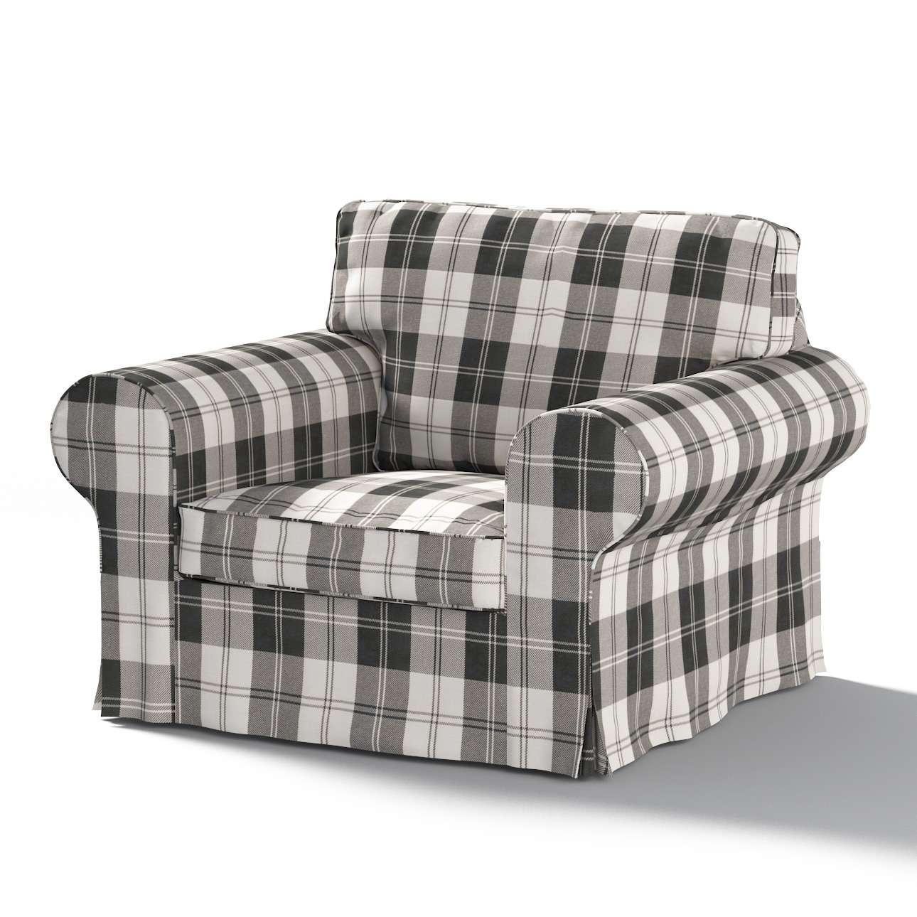 Pokrowiec na fotel Ektorp Fotel Ektorp w kolekcji Edinburgh, tkanina: 115-74