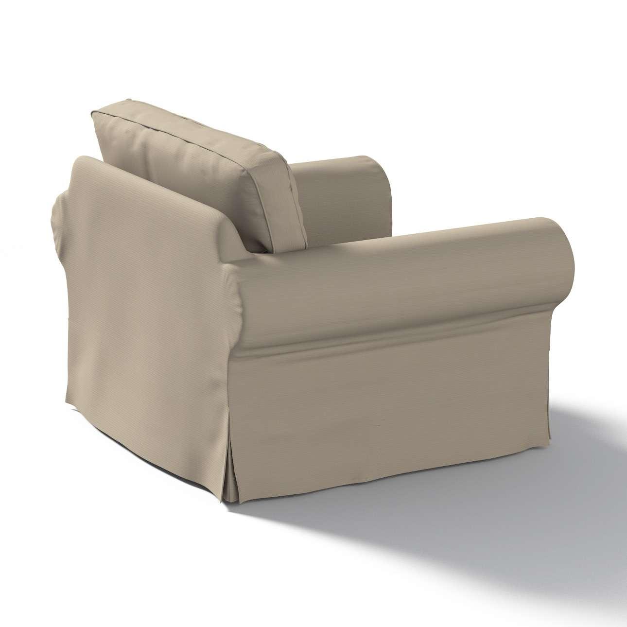 Ektorp Sesselbezug Sesselhusse, Ektorp Sessel von der Kollektion Cotton Panama, Stoff: 702-28