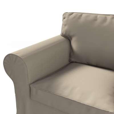 Pokrowiec na fotel Ektorp w kolekcji Cotton Panama, tkanina: 702-28