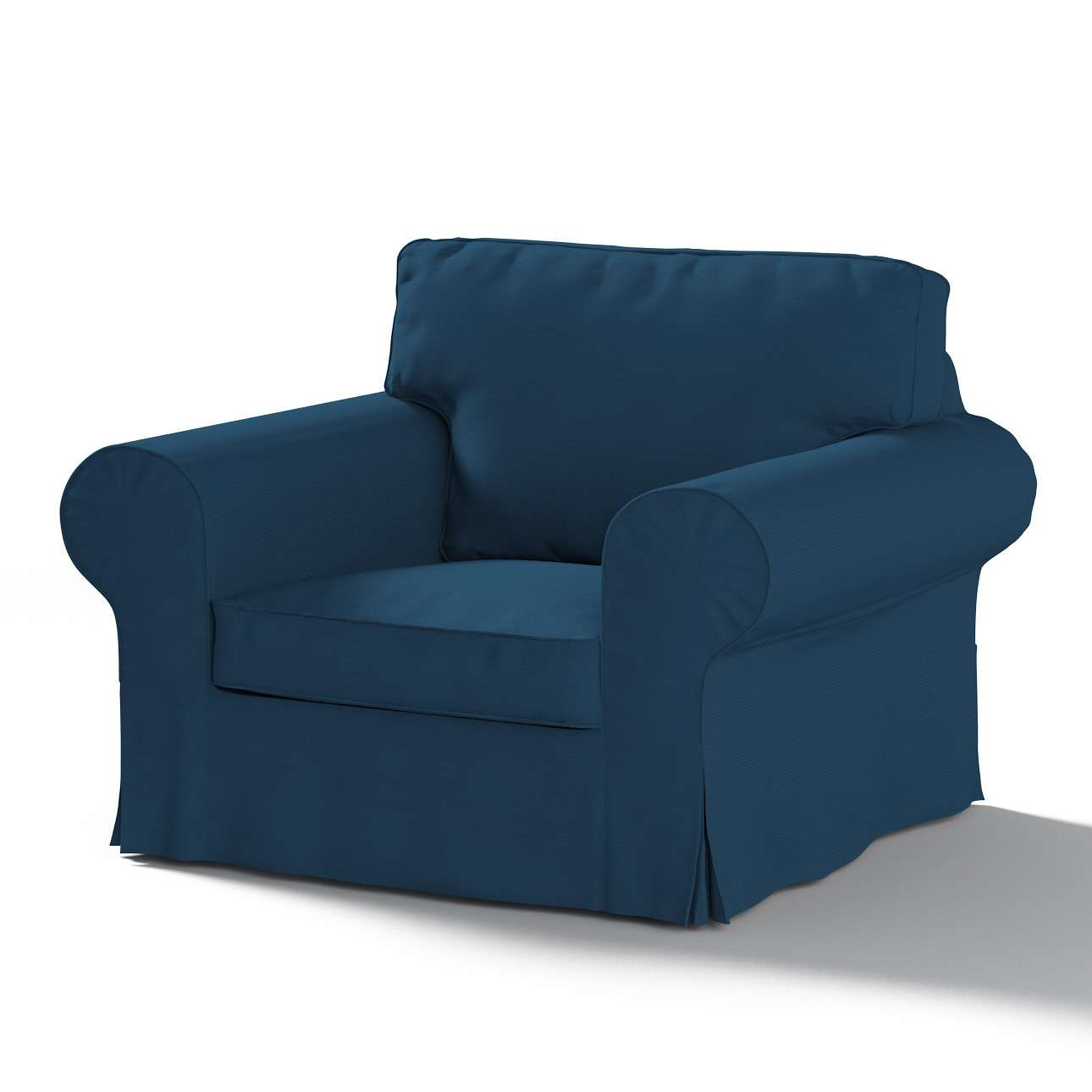 Bezug für Ektorp Sessel von der Kollektion Cotton Panama, Stoff: 702-30