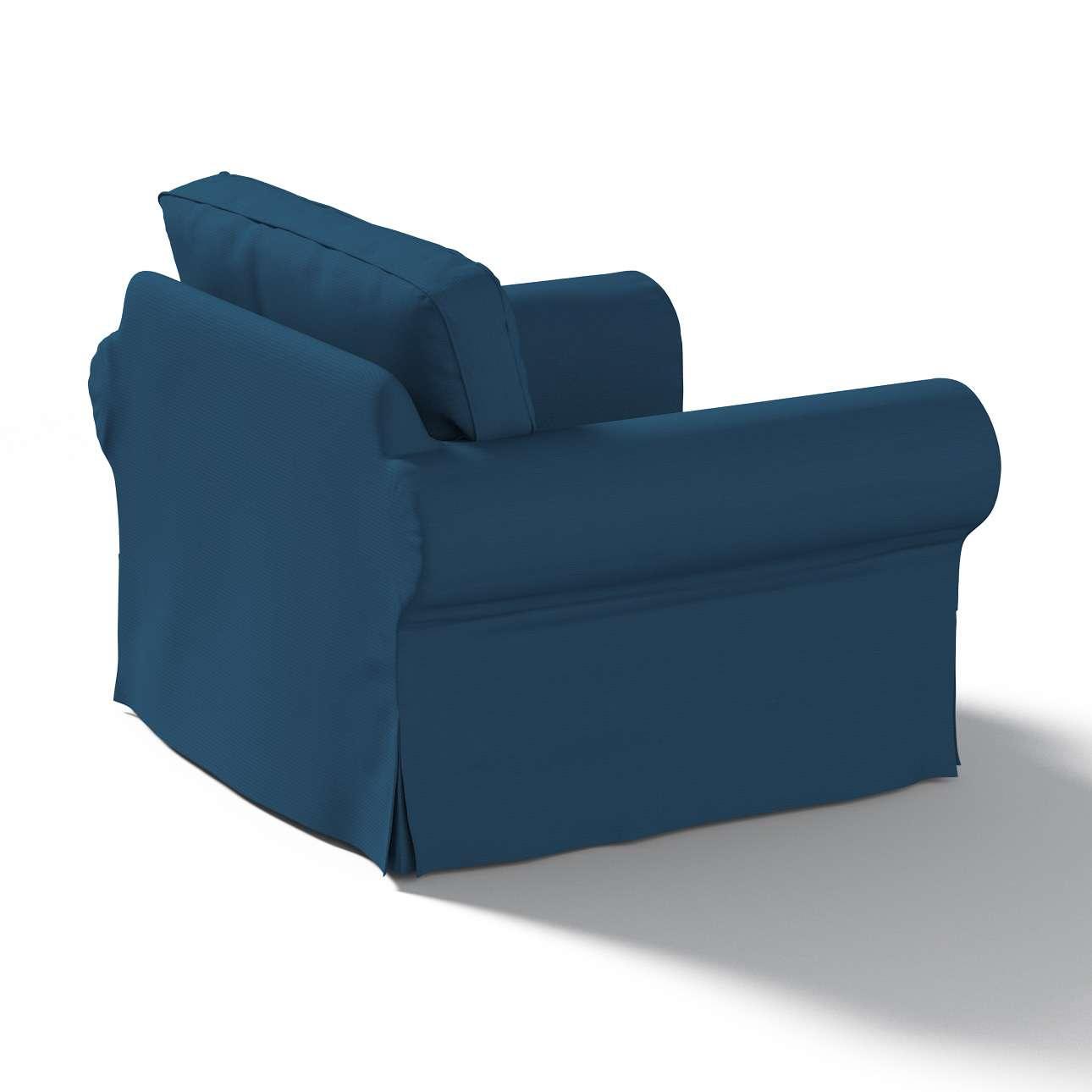 Ektorp Sesselbezug Sesselhusse, Ektorp Sessel von der Kollektion Cotton Panama, Stoff: 702-30