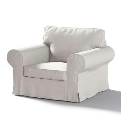 Pokrowiec na fotel Ektorp w kolekcji Cotton Panama, tkanina: 702-31