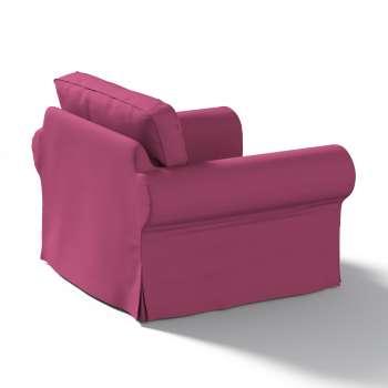 Pokrowiec na fotel Ektorp w kolekcji Cotton Panama, tkanina: 702-32