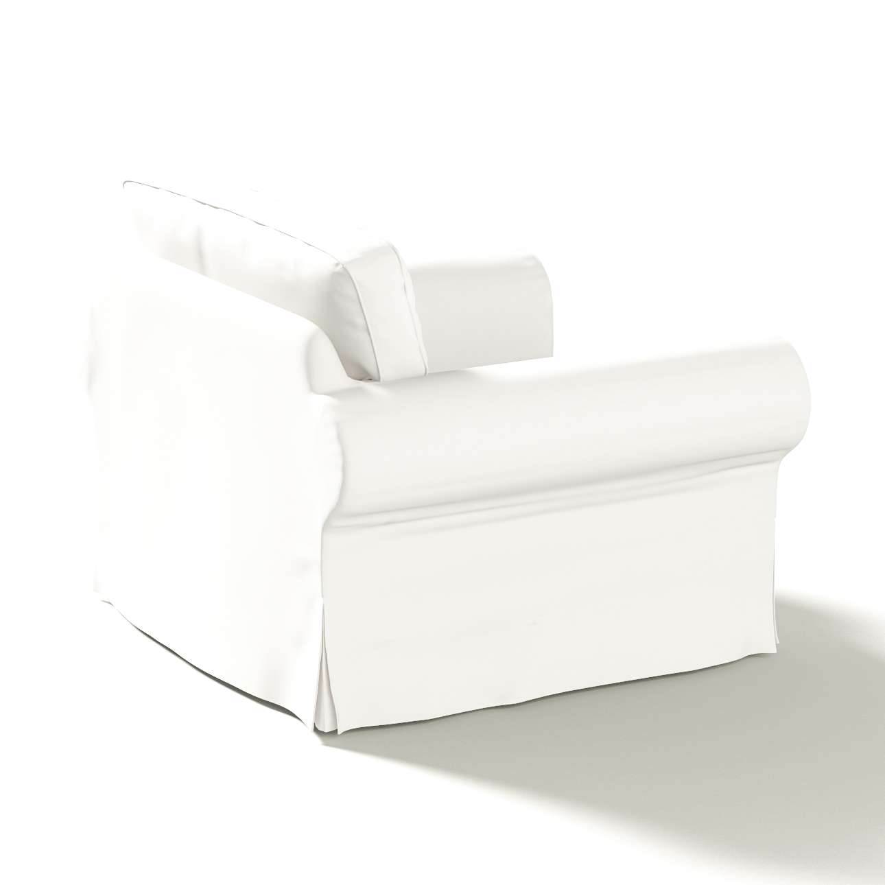 Potah na křeslo IKEA Ektorp v kolekci Cotton Panama, látka: 702-34