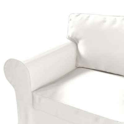 Pokrowiec na fotel Ektorp w kolekcji Cotton Panama, tkanina: 702-34