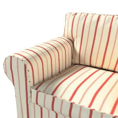 Pokrowiec na fotel Ektorp w kolekcji Avinon, tkanina: 129-15