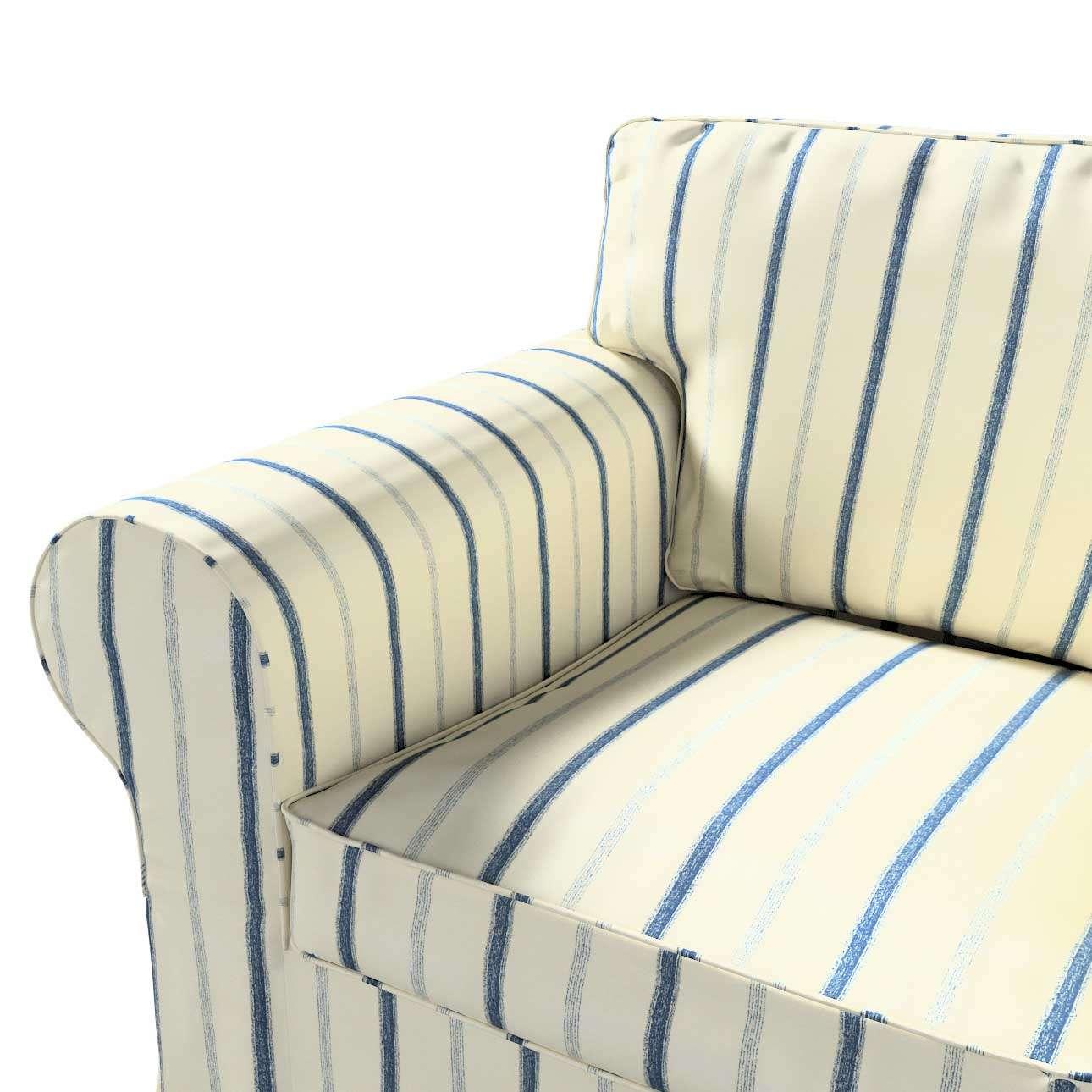 Pokrowiec na fotel Ektorp w kolekcji Avinon, tkanina: 129-66