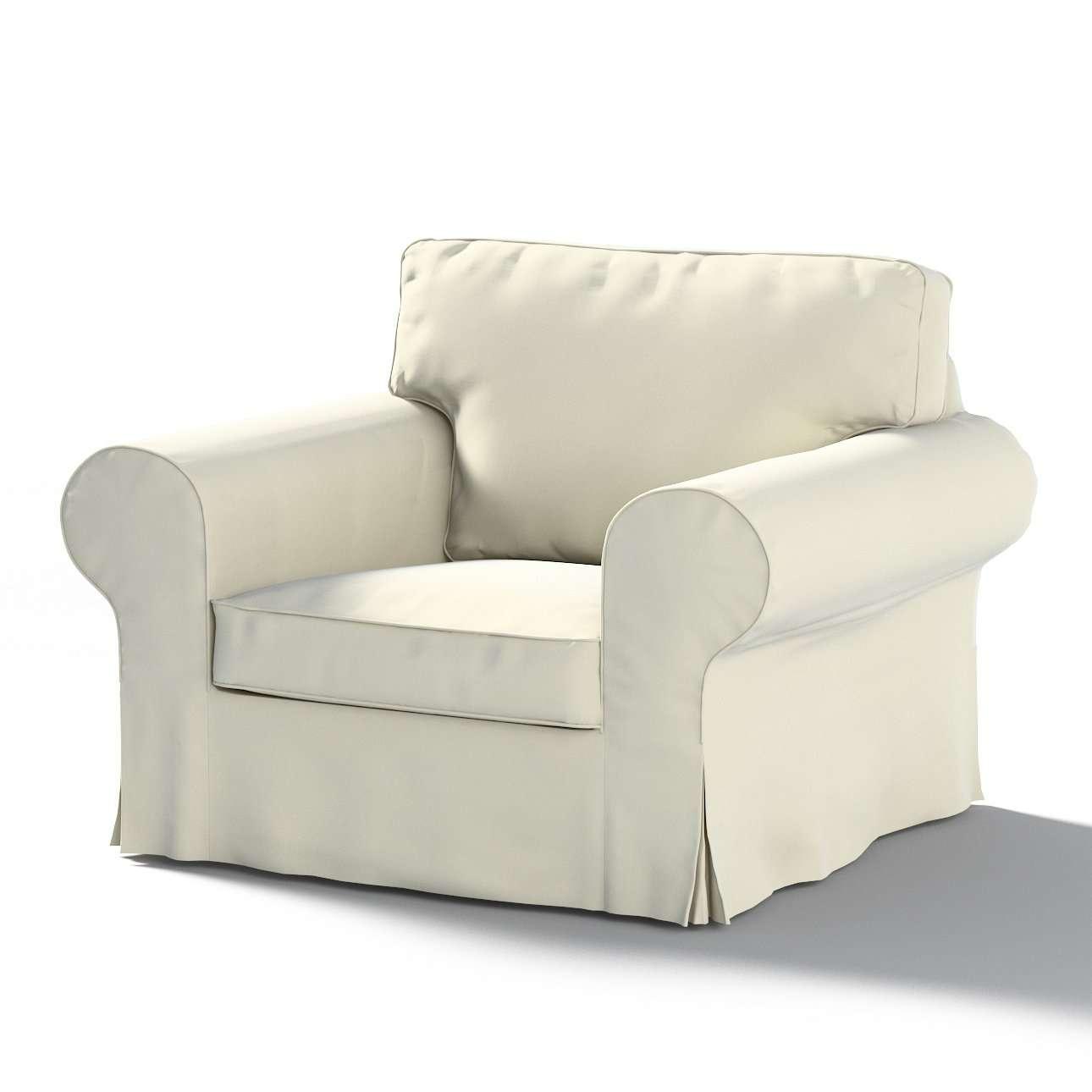 Pokrowiec na fotel Ektorp w kolekcji Velvet, tkanina: 704-10