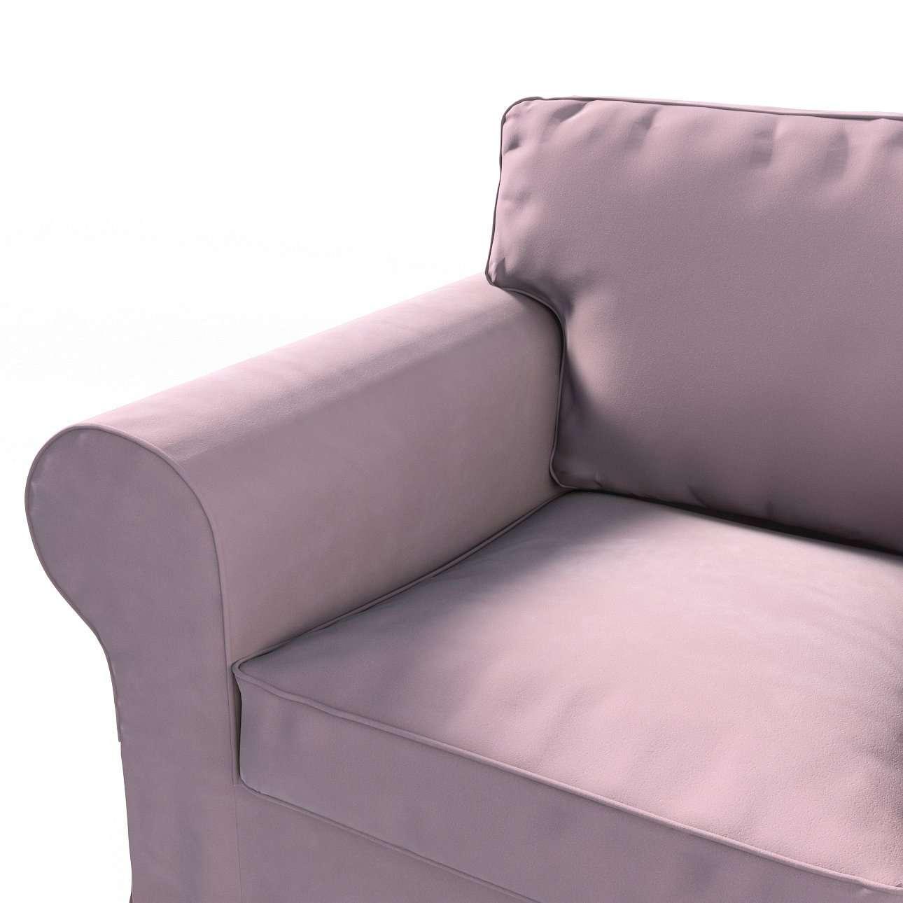 Pokrowiec na fotel Ektorp w kolekcji Velvet, tkanina: 704-14
