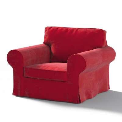 Pokrowiec na fotel Ektorp w kolekcji Velvet, tkanina: 704-15