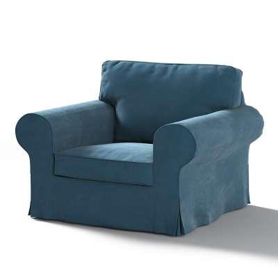 Pokrowiec na fotel Ektorp w kolekcji Velvet, tkanina: 704-16