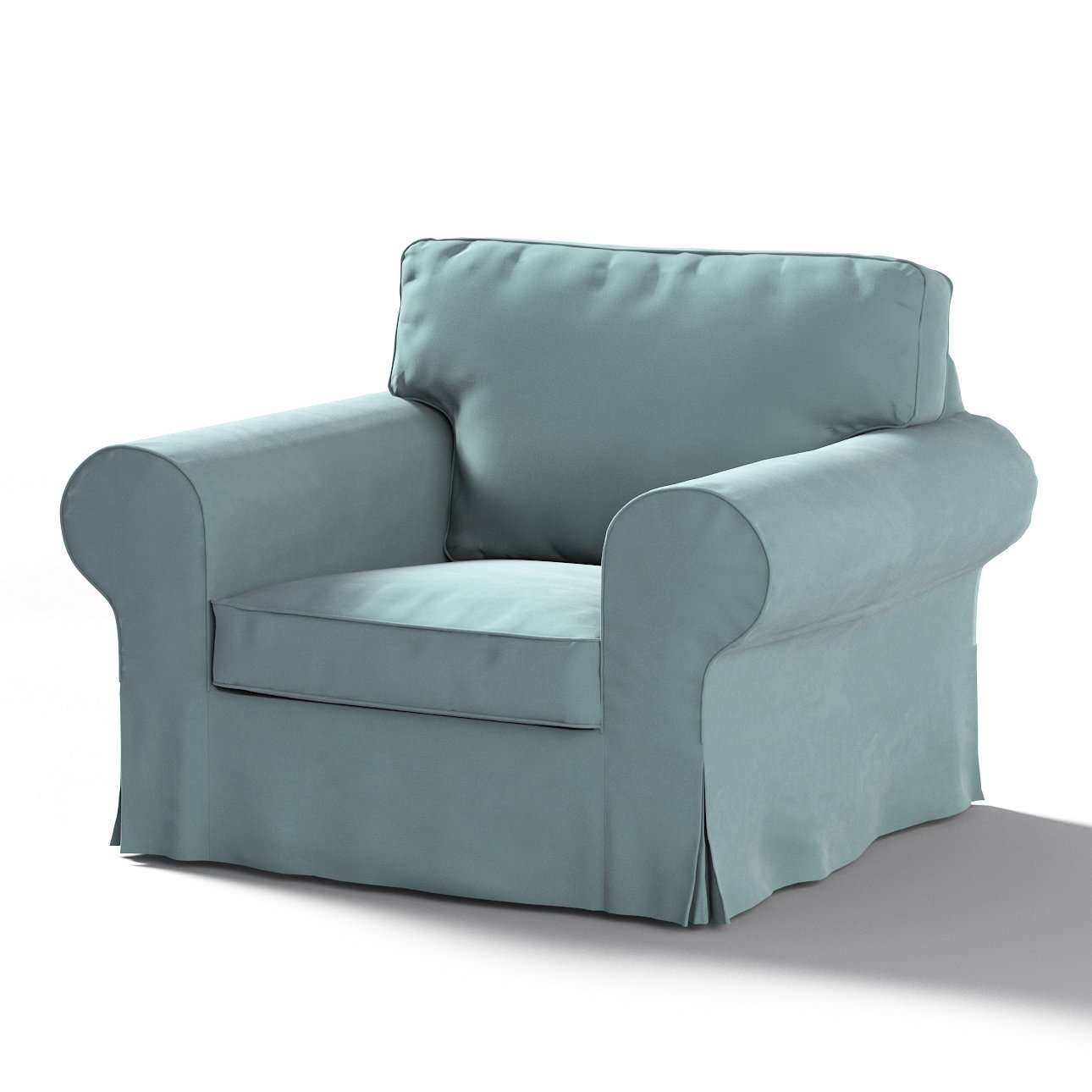 Ektorp armchair cover in collection Velvet, fabric: 704-18