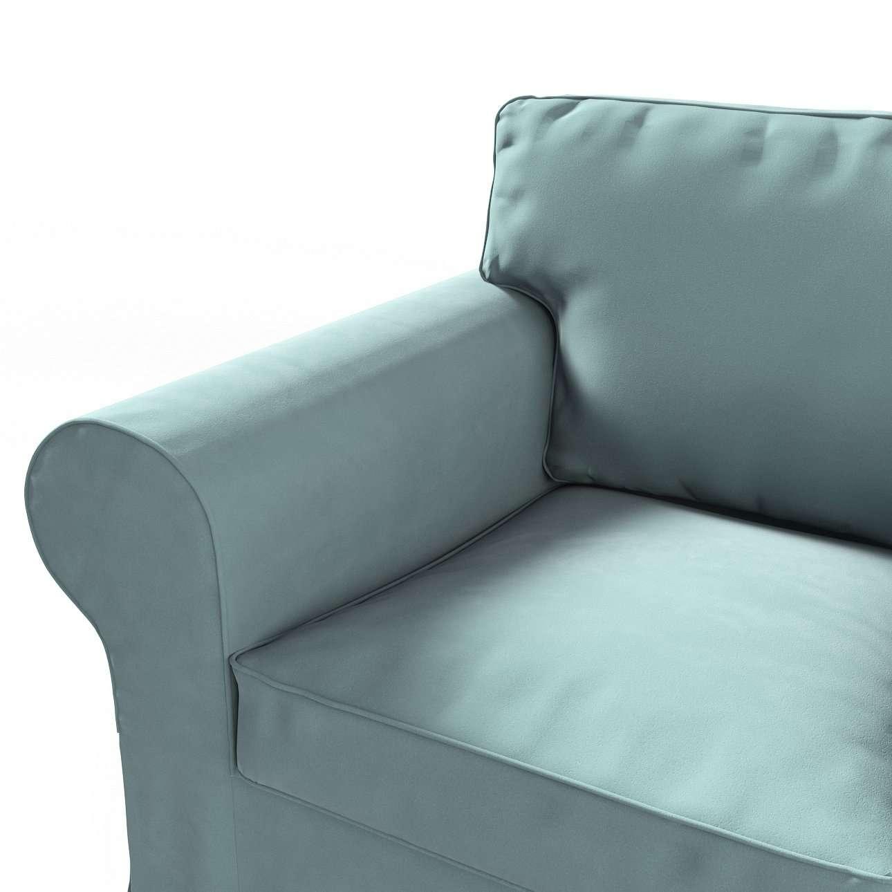 Pokrowiec na fotel Ektorp w kolekcji Velvet, tkanina: 704-18