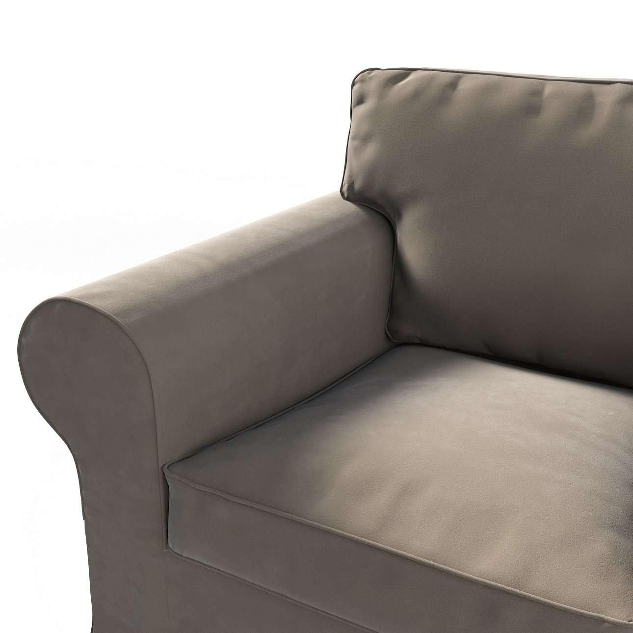 Pokrowiec na fotel Ektorp w kolekcji Velvet, tkanina: 704-19