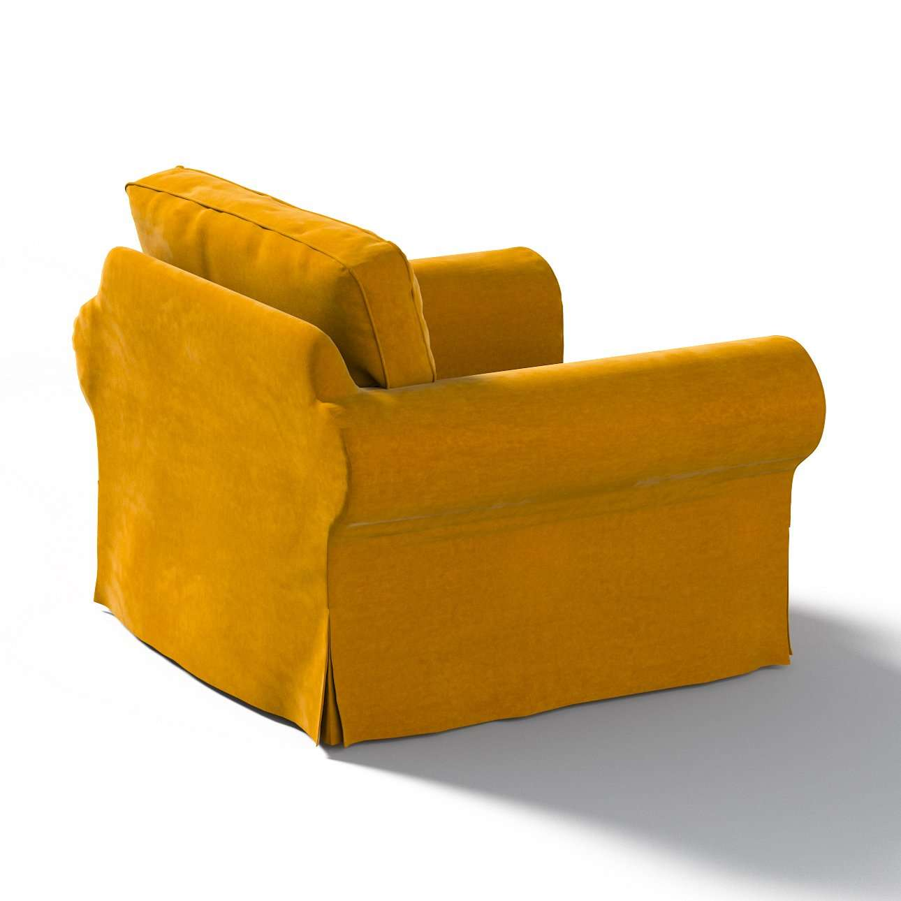 Bezug für Ektorp Sessel von der Kollektion Velvet, Stoff: 704-23
