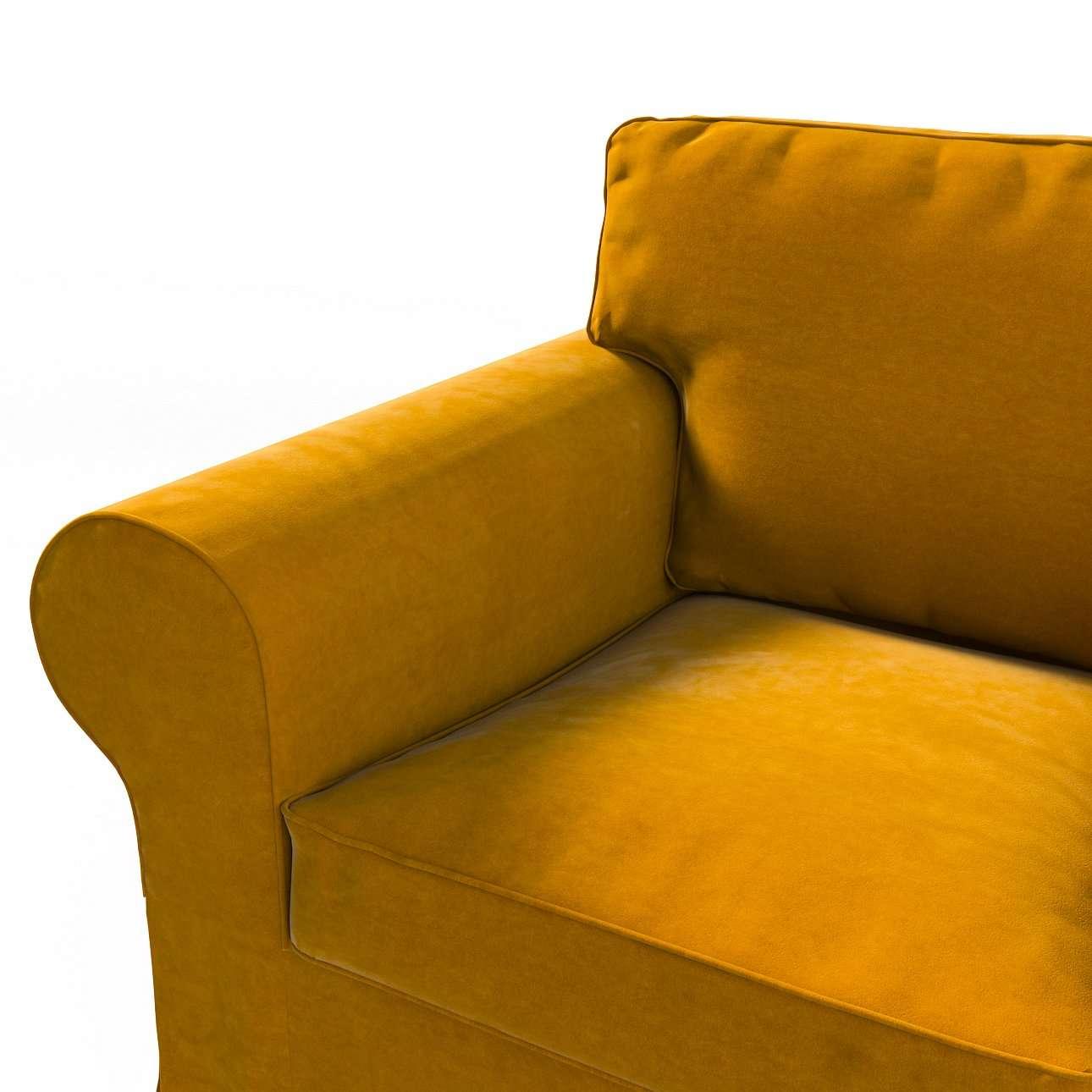 Pokrowiec na fotel Ektorp w kolekcji Velvet, tkanina: 704-23