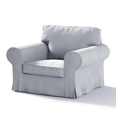 Pokrowiec na fotel Ektorp w kolekcji Velvet, tkanina: 704-24