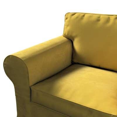 Pokrowiec na fotel Ektorp w kolekcji Velvet, tkanina: 704-27