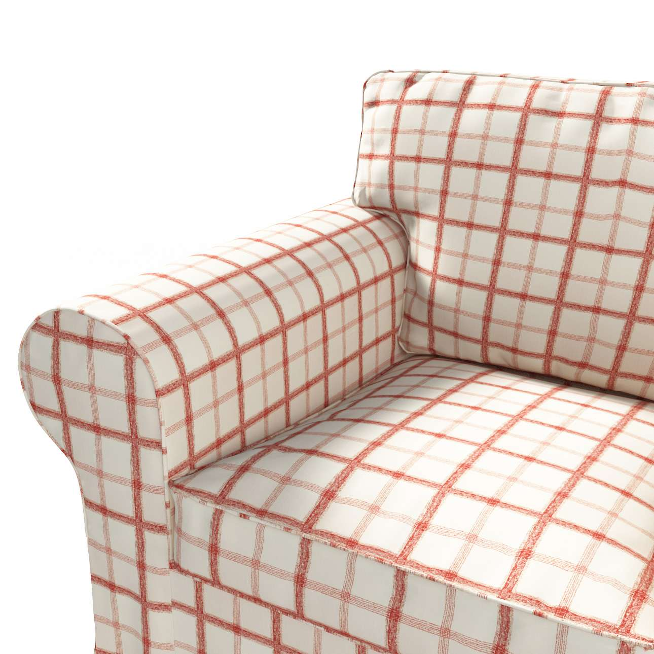 Pokrowiec na fotel Ektorp Fotel Ektorp w kolekcji Avinon, tkanina: 131-15
