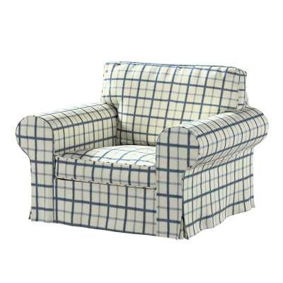 Pokrowiec na fotel Ektorp w kolekcji Avinon, tkanina: 131-66