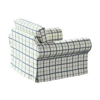 Pokrowiec na fotel Ektorp Fotel Ektorp w kolekcji Avinon, tkanina: 131-66
