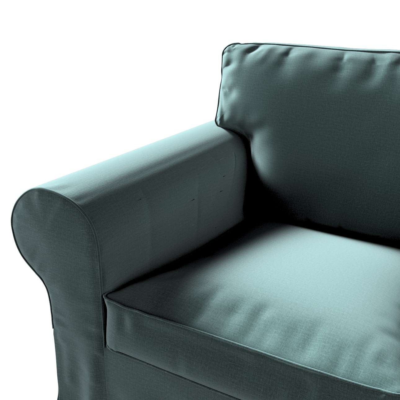 Pokrowiec na fotel Ektorp w kolekcji Ingrid, tkanina: 705-36