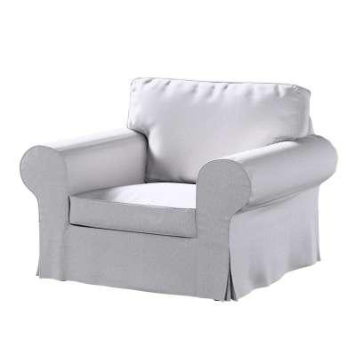 Pokrowiec na fotel Ektorp w kolekcji Amsterdam, tkanina: 704-45