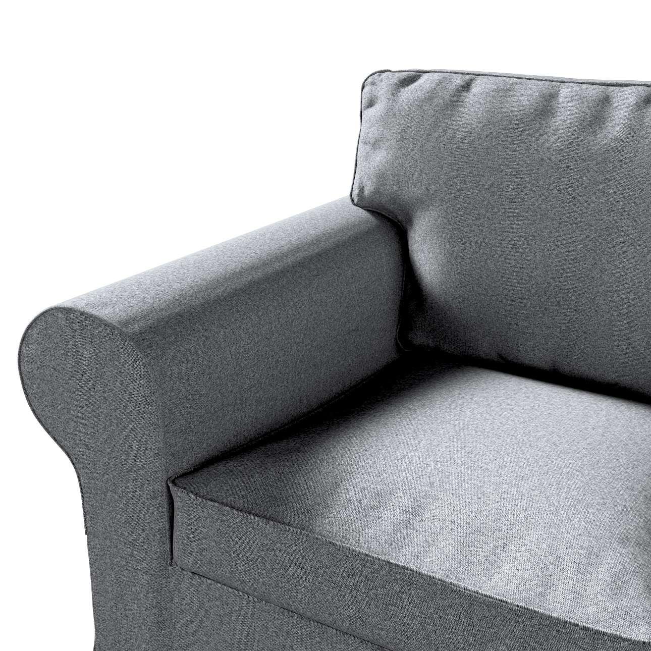 Pokrowiec na fotel Ektorp w kolekcji Amsterdam, tkanina: 704-47