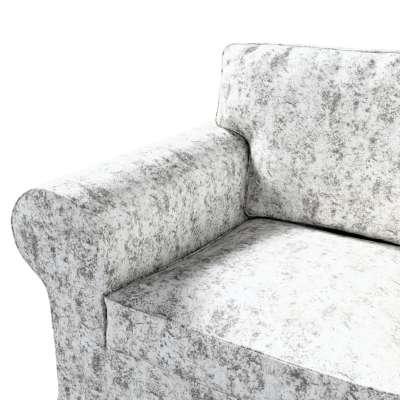 Pokrowiec na fotel Ektorp w kolekcji Velvet, tkanina: 704-49