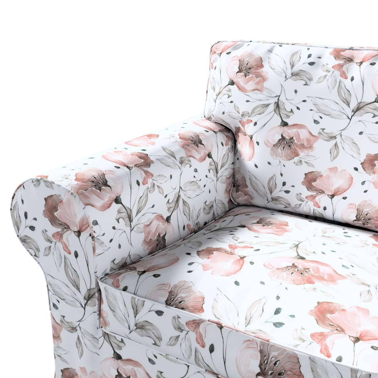 Pokrowiec na fotel Ektorp w kolekcji Velvet, tkanina: 704-50