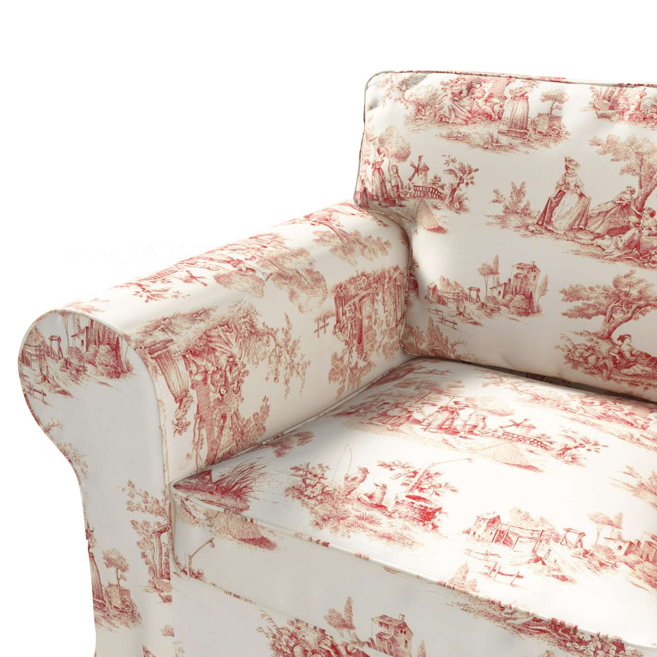 Ektorp Sesselbezug Sesselhusse, Ektorp Sessel von der Kollektion Avinon, Stoff: 132-15
