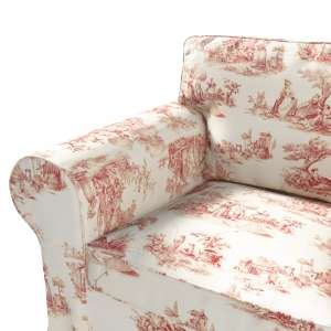 Pokrowiec na fotel Ektorp Fotel Ektorp w kolekcji Avinon, tkanina: 132-15