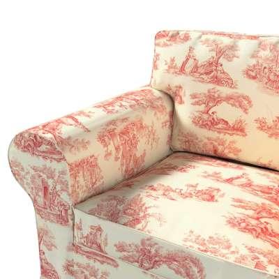 Pokrowiec na fotel Ektorp w kolekcji Avinon, tkanina: 132-15