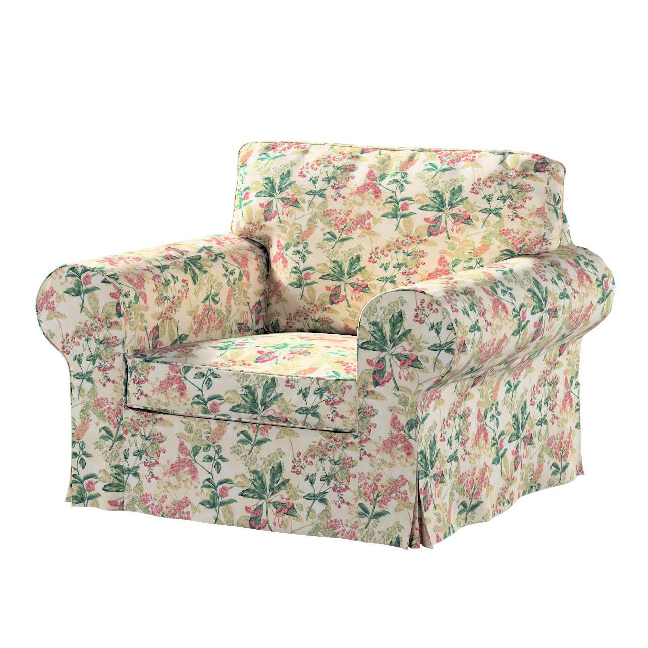 Bezug für Ektorp Sessel von der Kollektion Londres, Stoff: 143-41