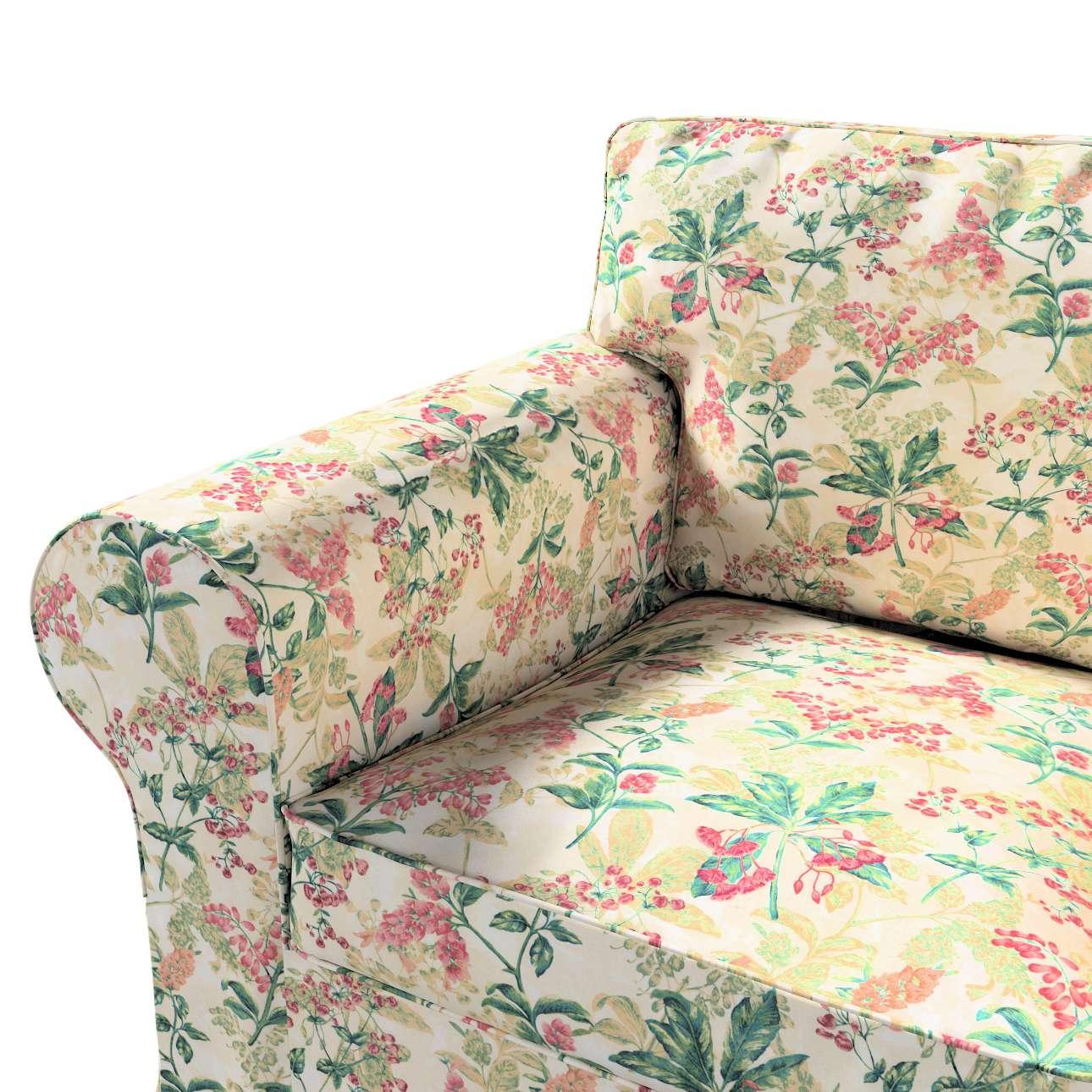 Pokrowiec na fotel Ektorp w kolekcji Londres, tkanina: 143-41