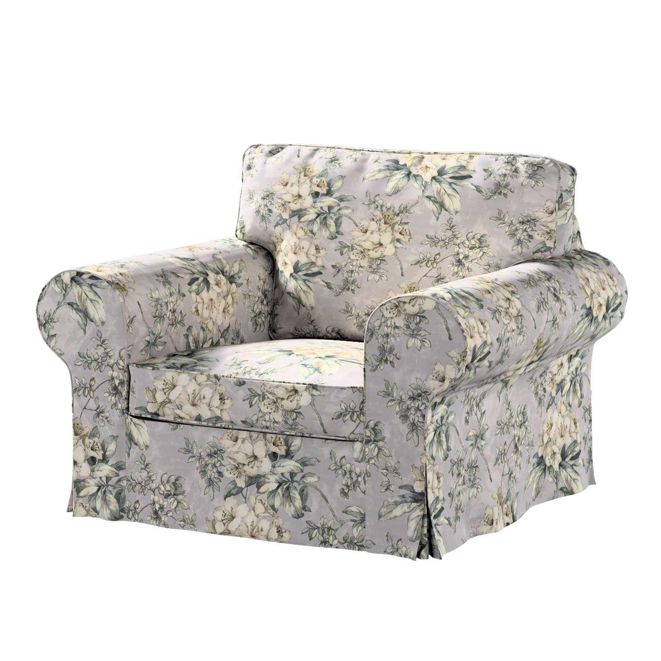 Pokrowiec na fotel Ektorp w kolekcji Londres, tkanina: 143-36