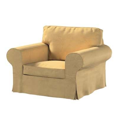 Pokrowiec na fotel Ektorp w kolekcji Living, tkanina: 160-93