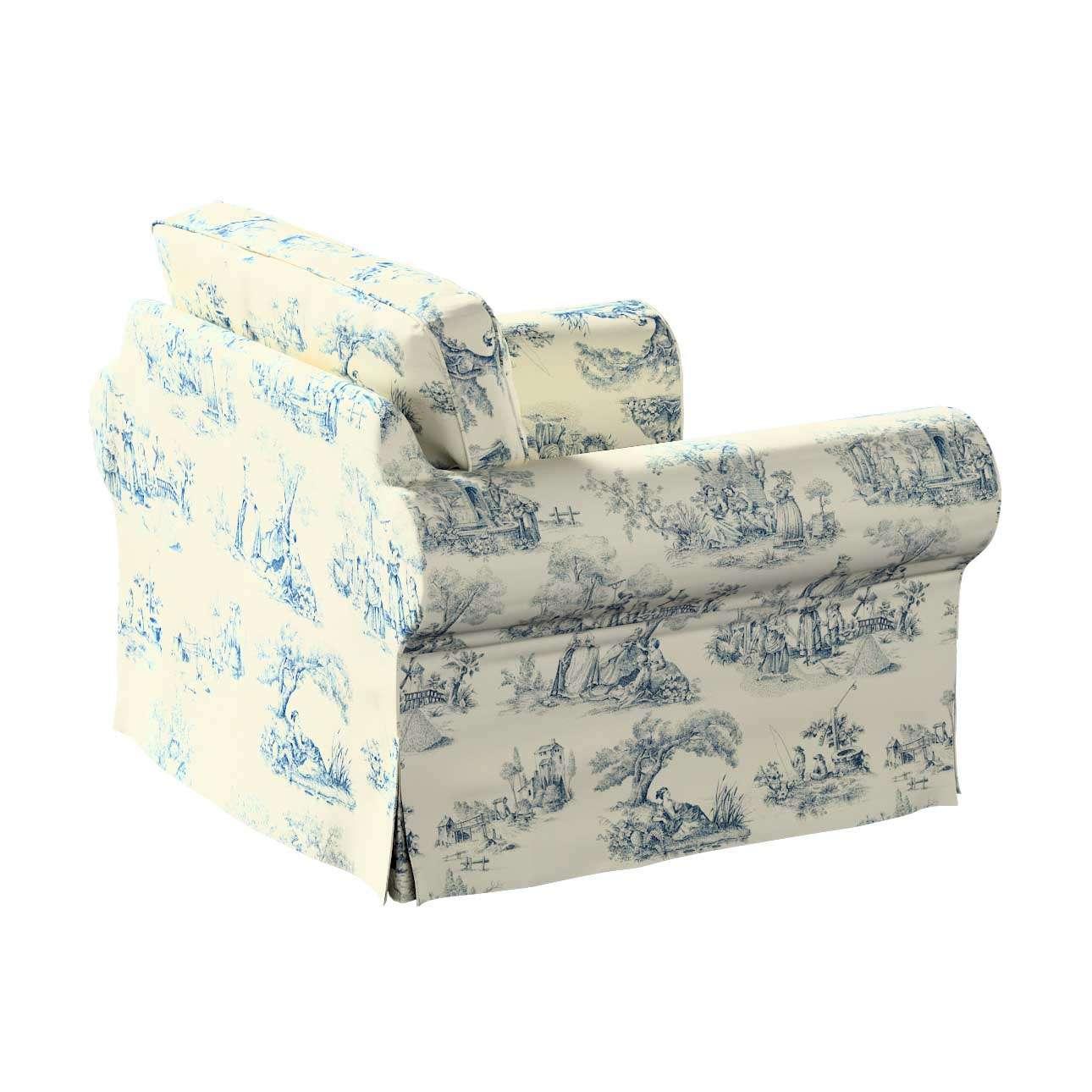 IKEA hoes voor Ektorp fauteuil van de collectie Avinon, Stof: 132-66