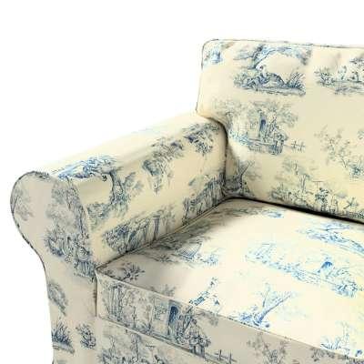 Pokrowiec na fotel Ektorp w kolekcji Avinon, tkanina: 132-66