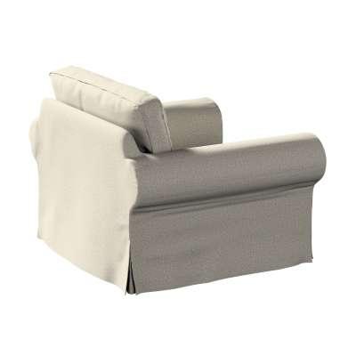 Pokrowiec na fotel Ektorp 161-23 szaro-beżowy melanż Kolekcja Madrid