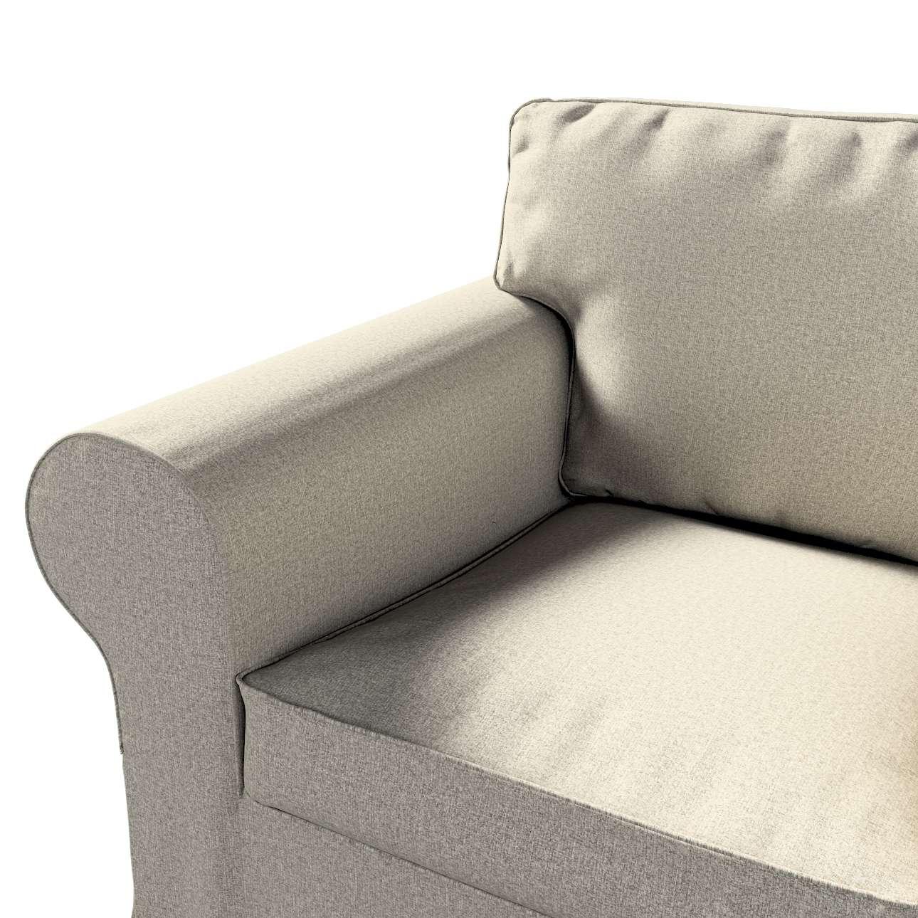 Pokrowiec na fotel Ektorp w kolekcji Madrid, tkanina: 161-23