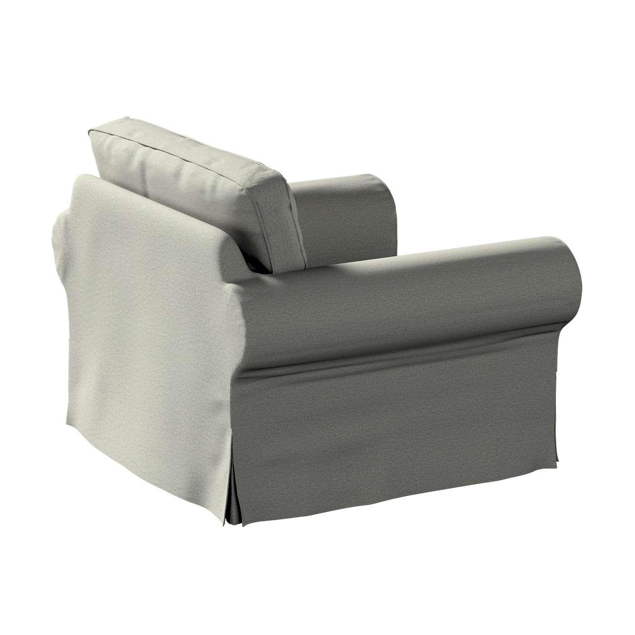 Pokrowiec na fotel Ektorp w kolekcji Etna, tkanina: 161-25