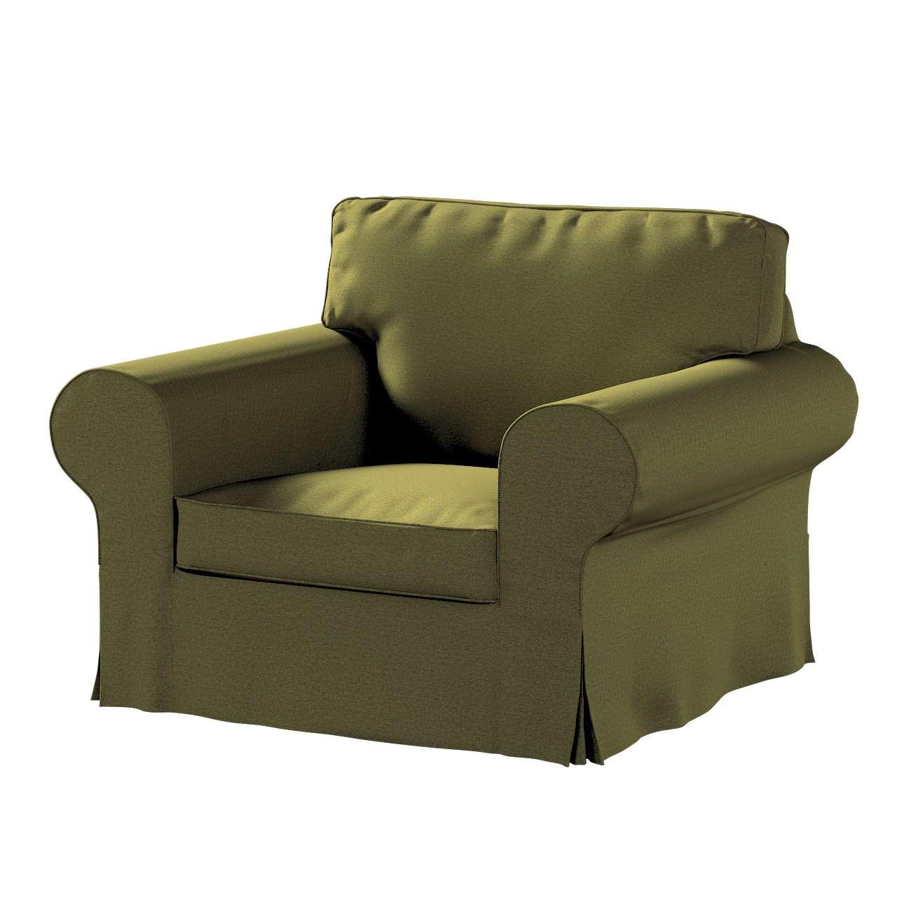 Pokrowiec na fotel Ektorp w kolekcji Etna, tkanina: 161-26